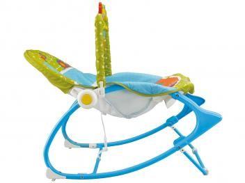 Cadeirinha Fisher-Price Minha Infância Bosque - Reclinável com Vibrações Calmantes até 18kg