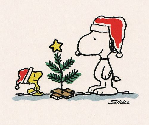 xmashop: A Charlie Brown Tree by Calsidyrose on Flickr.