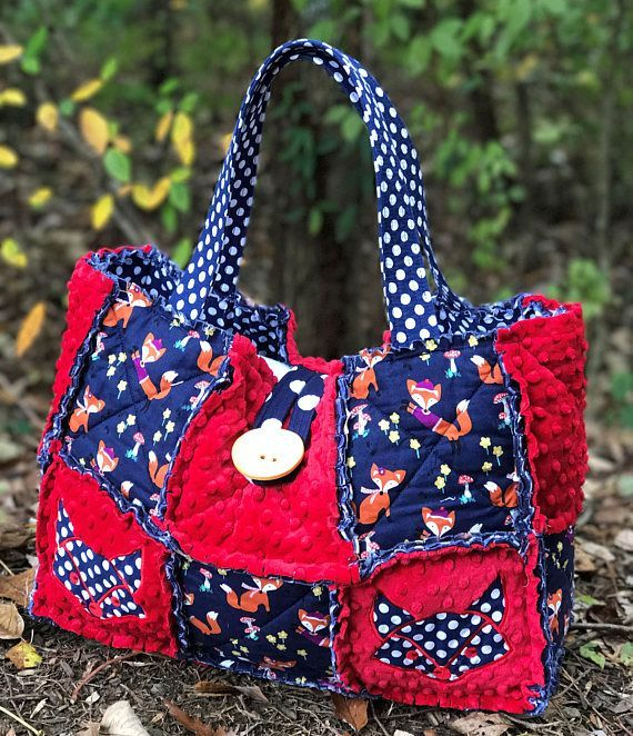 Large Diaper Bag Fox Bag Diaper Bag Travel Bag Girl Diaper #etsy #handmade #giftideas #babyshower #foxes #kidfashion #diaperbag