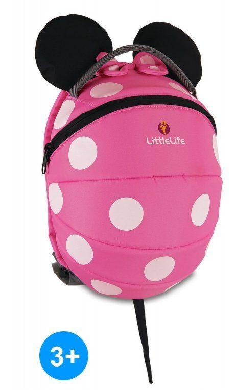 Plecak różowa Myszka Minnie 3+ LittleLife Animal