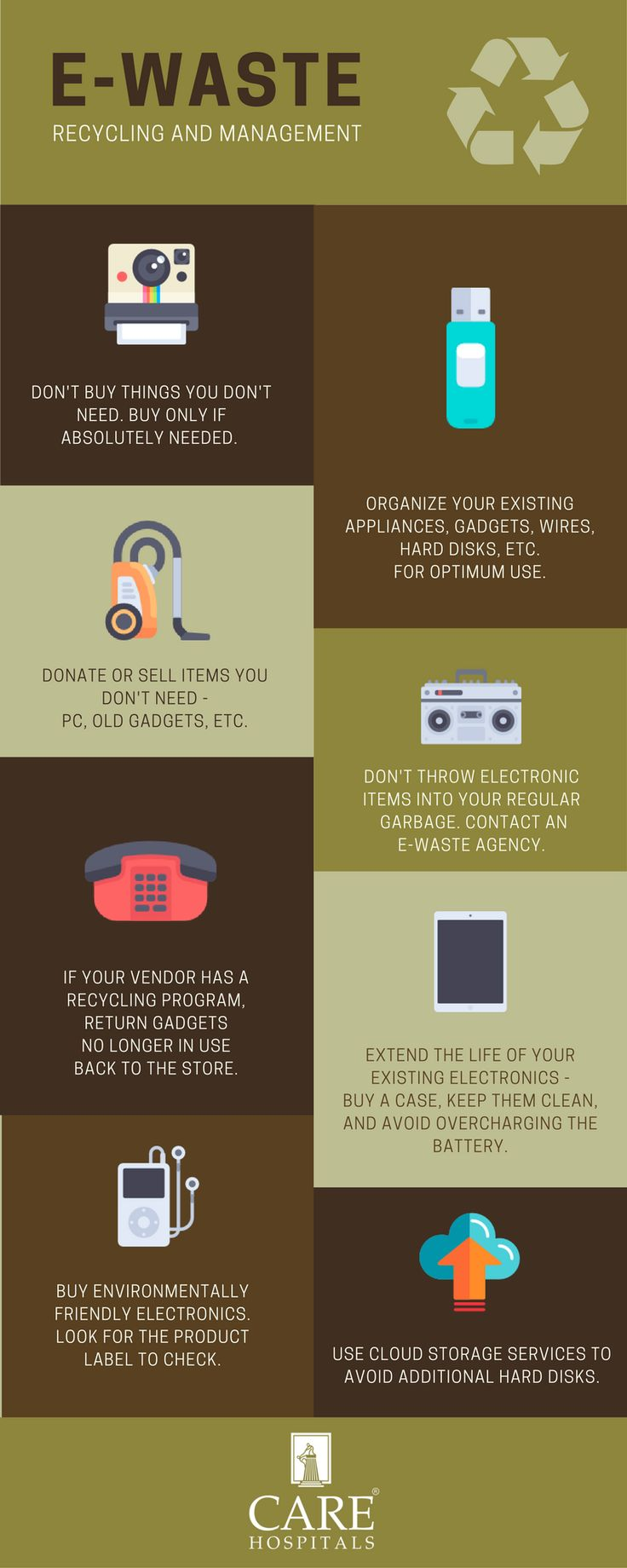 Do you have a lot of old gadgets and don't know how to dispose them? Follow these tips or contact an e-waste management company.