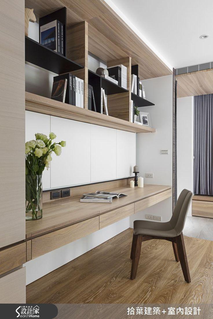 現代風的裝潢圖片為拾葉建築+室內設計的設計作品,該設計案例是一間老屋(15年以上)總坪數為60,格局為兩房,更多拾葉建築+室內設計設計案例作品都在設計家 Searchome