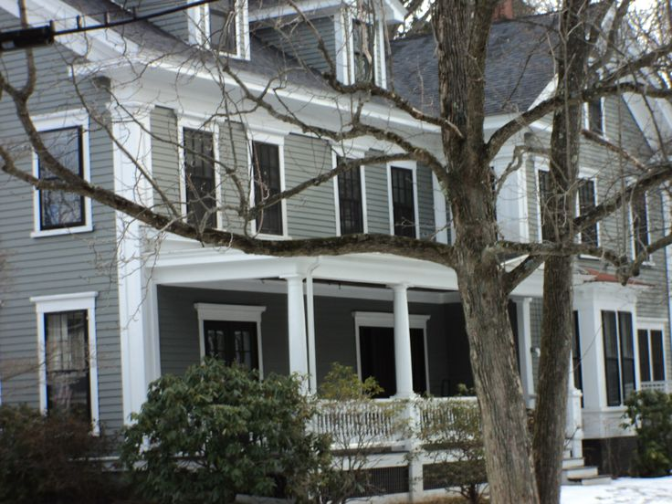 Duxbury Gray Hc 163 By Ben Moore Paint Colors Pinterest