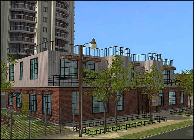 City Center Lofts, revamped - Anna's Sims