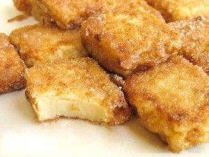 fried custard, dessert