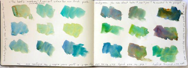 MHBD's Blog: The snotgreen sea