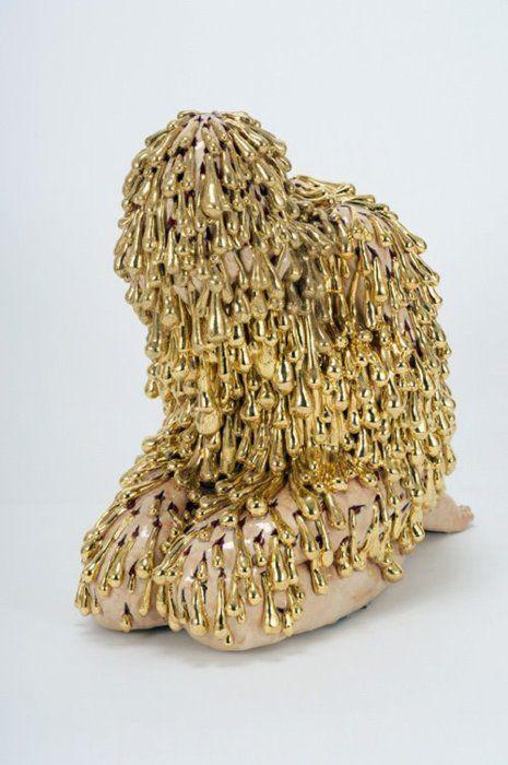 Carolein Smit  Man of sorrows, 2007, 58 cm.