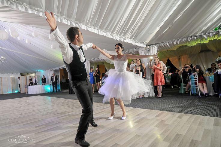 Having fun at your own wedding!