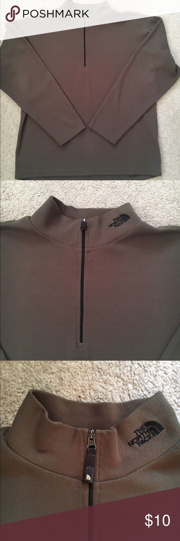 Men's North Face pullover Comfy pullover in olive green The North Face Shirts Sweatshirts & Hoodies