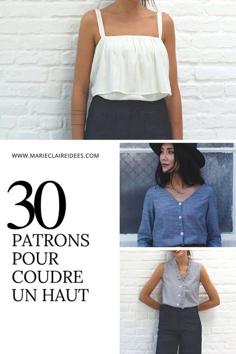 Patrons pour coudre un haut / sewing patterns
