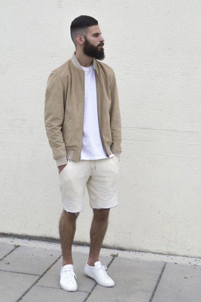 Conseils   Comment choisir et porter un short ou bermuda pour homme      Mode homme   Outfits, Mens fashion, Short outfits e3c3f3ec4477