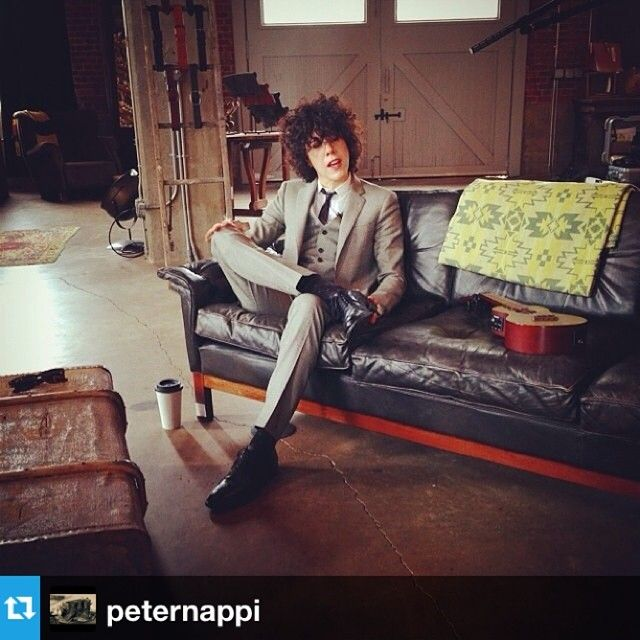 #Repost from @peternappi with @repostapp thank u again @peternappi had a great time! #greatinterview!! :) See u soon! @lightning100 interview with @iamlpofficial in the Peter Nappi Studio. Regram from @listentolee.