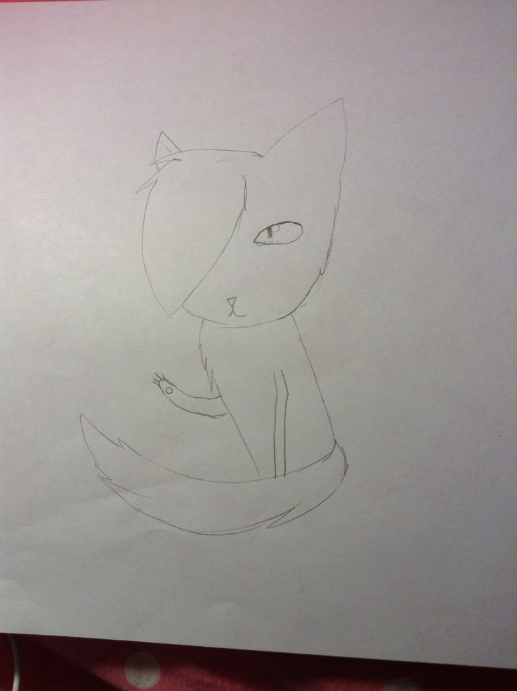 Cat I'm gonna color later!!!!