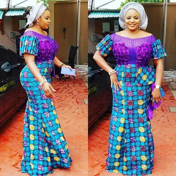 Modernistic and Latest Ankara Dresses in Nigeria For 2017/2018 - Maboplus.com