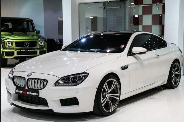 2018 BMW M6 Exterior View