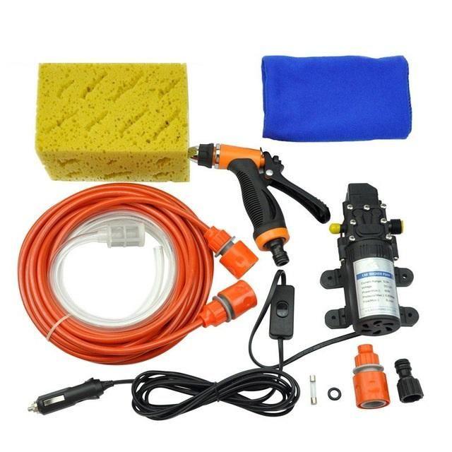 High Pressure 12v Self-Priming Electric Water Pump Car Washer – Modern Market Online