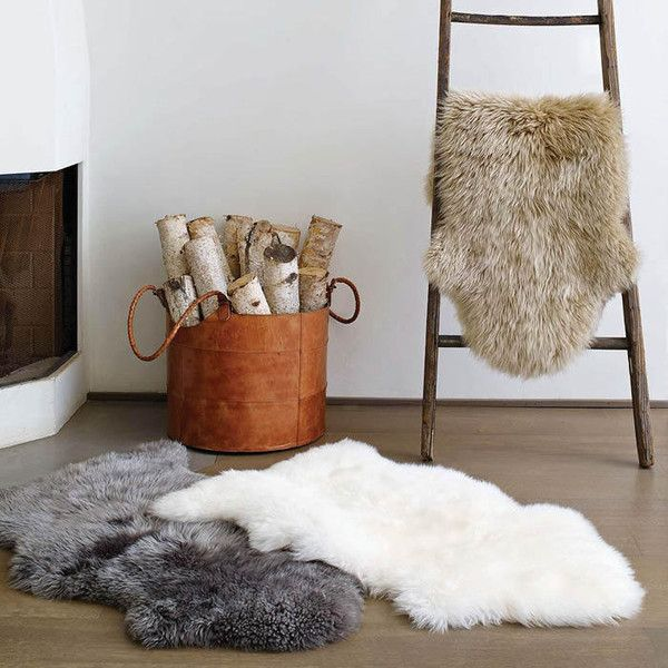 Sheepskin Rugs by Ugg Australia: $145 each