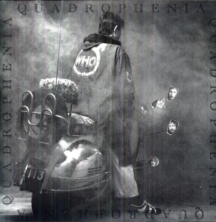 The Who Quadrophenia Awesome Album Covers Pinterest