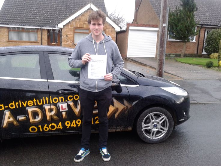"A huge shout out to Byron Eberle who passed his driving test 1st time 11/12/14 at Northampton Driving Test Centre with Aidan Checketts of www.adrivetuition.co.uk  01604 930031  #Driving #Adrive #DrivingTest #DrivingSchools #DrivingLessons #DrivingInstructors #Northampton #Daventry #Towcester #Wellingborough #Northants  Byron said ""Professional and perfect driving school. Thank you Aidan. I passed first time. Couldn't recommend A Drive high enough"""