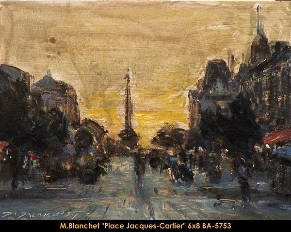 Original oil painting on canevas by Martin Blanchet #MartinBlanchet #Artist #CanadianArtist #QuebecArtist #Art #Oilpainting #OriginalPainting #FineArt #CityLandscape #PlaceJacquesCartier #Montreal #Balcondart #MultiArtLtee