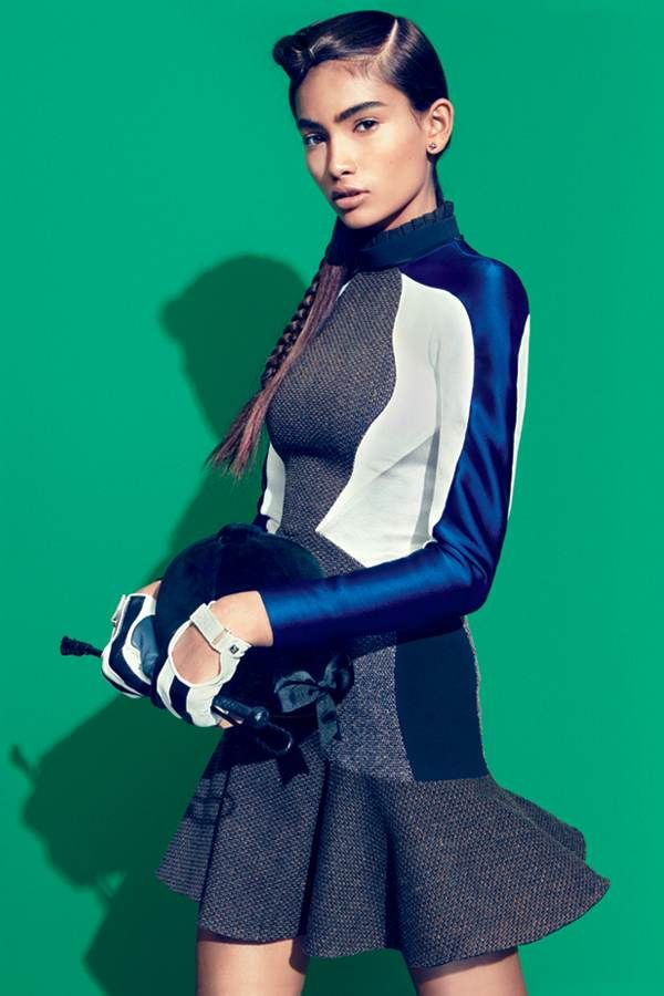 Grand Prix: Equestrian-Inspired Fashion   Stella McCartney in Teen Vogue September 2013