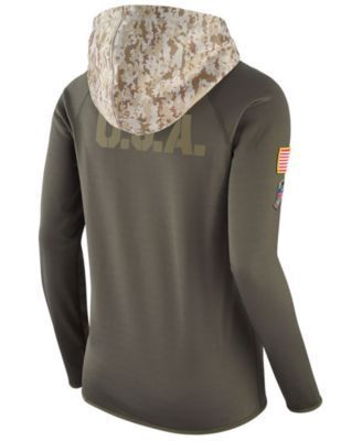 Nike Women's Indianapolis Colts Salute To Service Hoodie - Green XXL