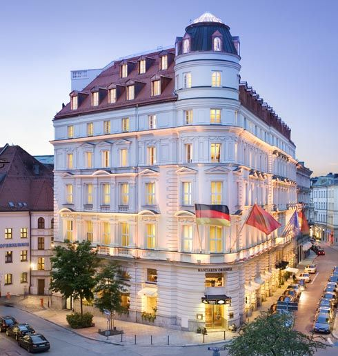 Mandarin Oriental Hotel in Munich, Germany