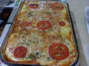 Imagem da receita Bauru de forno com pão de forma