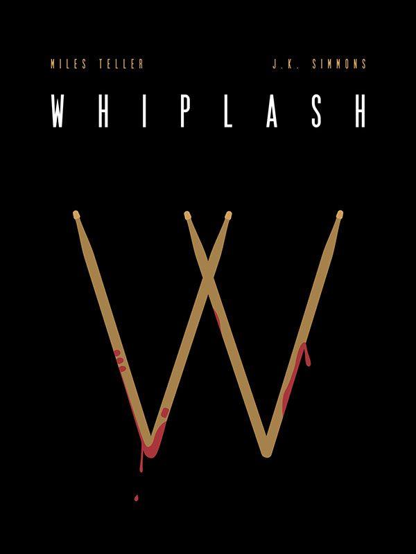 Whiplash (2014) ~ Minimal Movie Poster by Matt Hodin #amusementphile