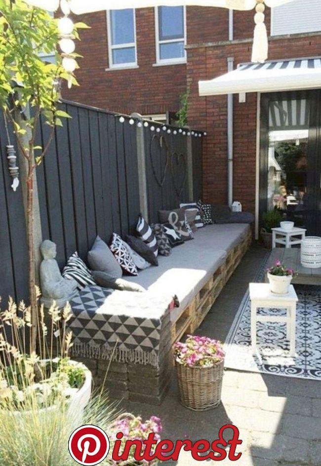 61 Stunning Small Patio Ideas 46 61 Stunning Small Patio Ideas 46 Related Backyard Seating Modern Garden Modern Garden Design