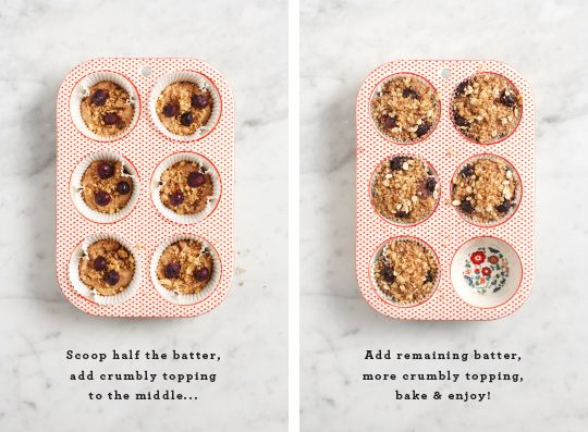 Coffee cake muffins - replace w/ healthful sugar substitute