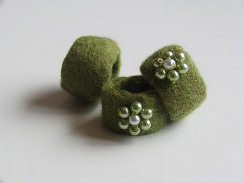 Felted ring