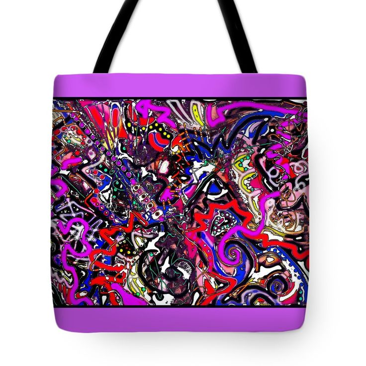 "All the Bells and Whistles Tote Bag 18"" x 18"""