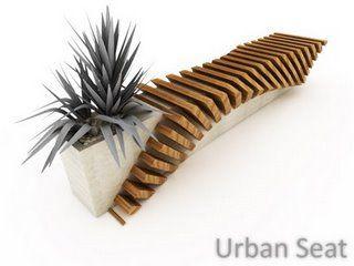 Madera: Mobiliario Urbano