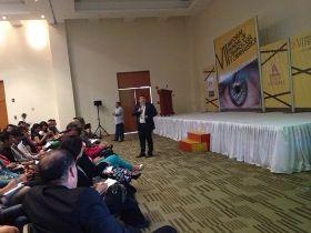 """El profesor Abel González ha participado en VII Simposium Mundial de Criminología de la Universidad Humani Mundial en México, donde colaboró en un taller especial sobre """"Perfilación Criminológica"""" http://www.udima.es/es/simposium-mundial-criminologia.html"""