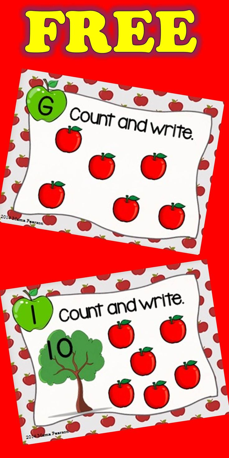 FREE!!!  Just in time for BACK TO SCHOOL! Help your students begin their year as a successful student while they practice counting. Your students will look at the task card, count the apples, and then record their answer on the response sheet that I've provided for you.