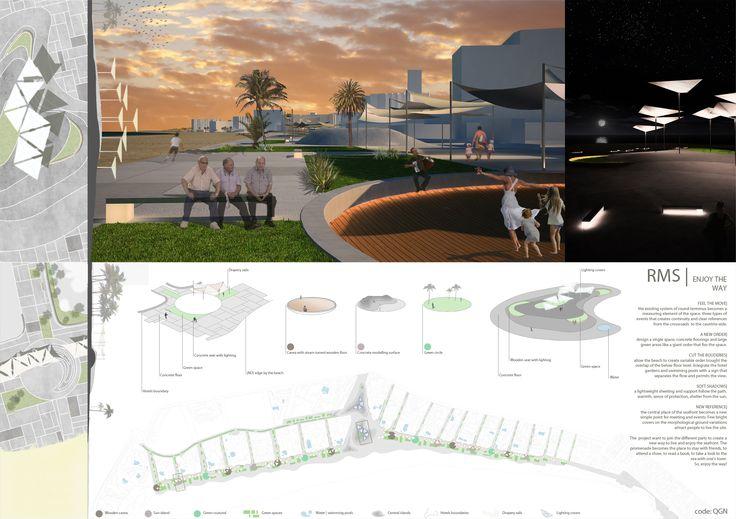 2011 | Competition. RMS for Archmedium. Rethinking the Cala Millor seafront, Mallorca, Spain.  project francesco onorati filippo pecorai francesco polci pietro rizzo antonio salvi