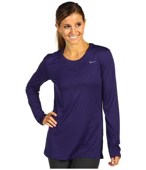 Nike Legend Training Shirt Night Blue/Cool Grey - Zappos.com Free Shipping BOTH Ways $28