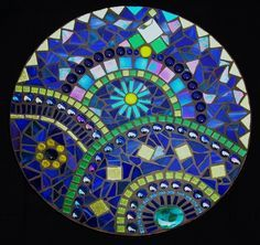 Image result for mosaic crab glass bowl