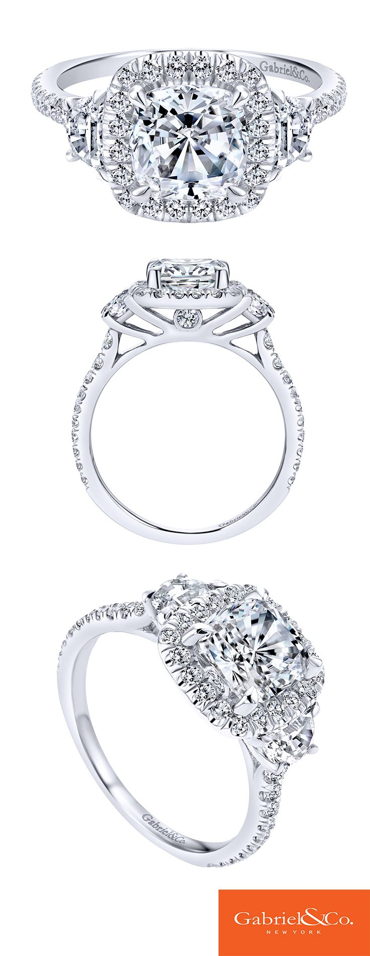 Gabriel & Co. - Voted #1 Most Preferred Jewelry Designer. Discover this perfect engagement ring or customize your own at Gabriel & Co.