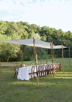 casual backyard wedding decor bruiloften in de