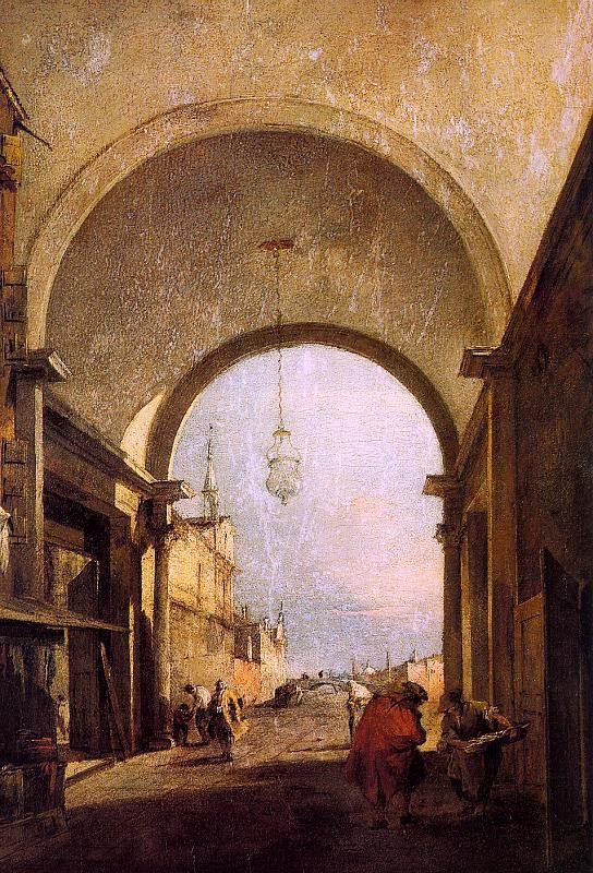 Francesco Guardi - City View
