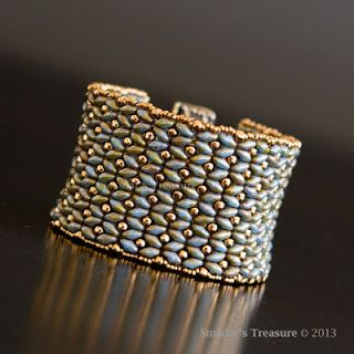 Smadar's Treasure: Dramatic SuperDuo Bracelet