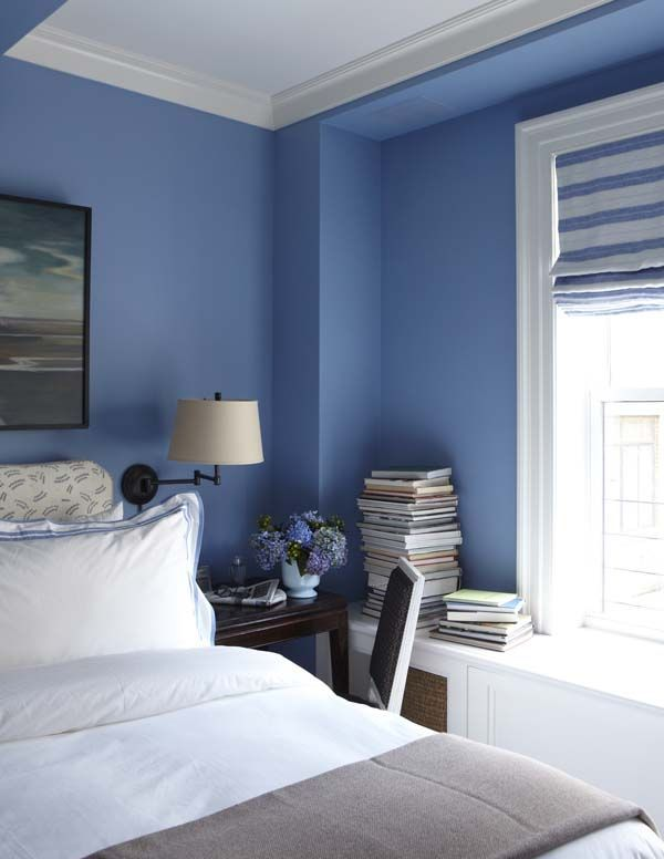 332 Best Images About Blue And White Bedrooms On Pinterest