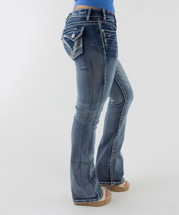 Look what I found on #zulily! Ariya Jeans Novara Straight-Leg Jeans - Plus by Ariya Jeans #zulilyfinds