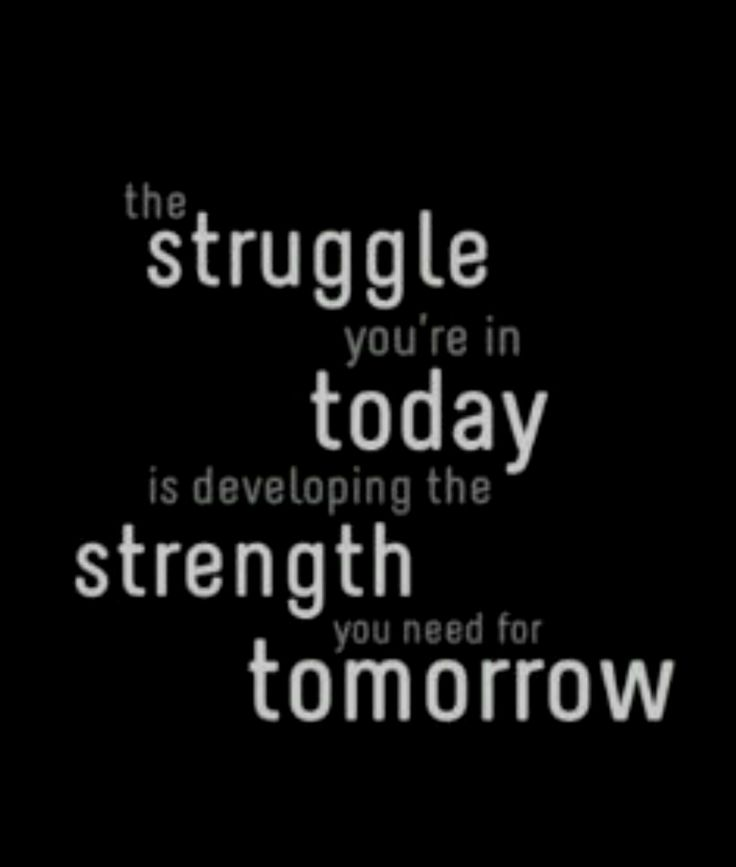 Stay strong. No matter what knocked you down. Today is in the past.. it's time to make up for it tomorrow ❤️