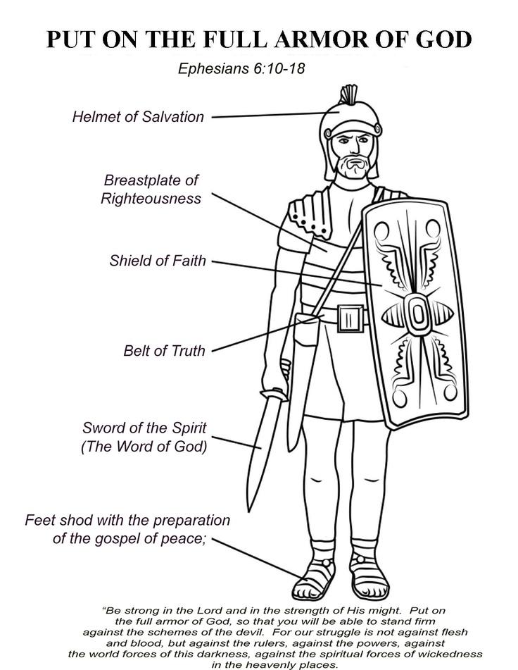 Ephesians 610 17 The Armor Of God