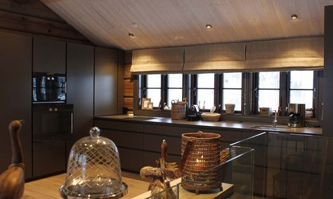 Charcoal modern kitchen