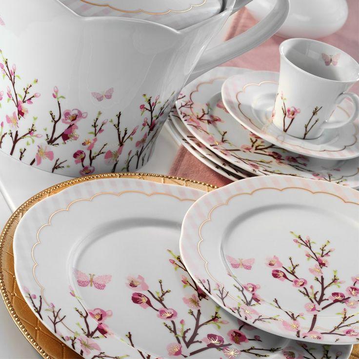 Kütahya Porselen Lindos 12 Kişilik 83 Parça 8561 Desen Yemek Takımı