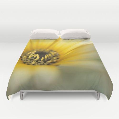 Flower #1 Duvet Cover  #Daisy #flower #flowers